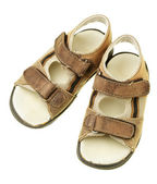 Children's sandals — Stock Photo