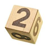 2 - Wooden blocks — Stock Photo