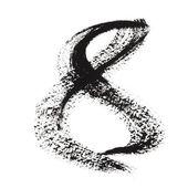 černý inkoust čísla — Stock fotografie