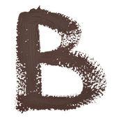 文字 b — ストック写真