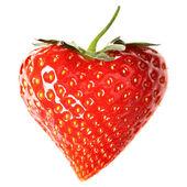 Strawberry-heart — Stock Photo