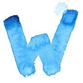 水彩画のアルファベット — ストック写真