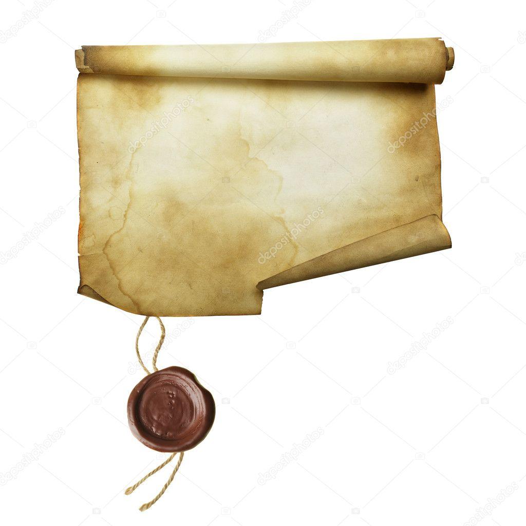 Ancient Scroll: Stock Photo © Zoooom #4551537