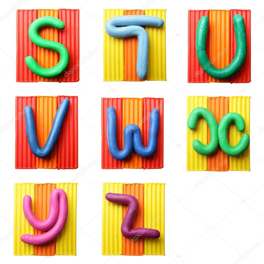 Как сделать буквы цветным