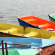 Colorful recreation boats - ストック写真