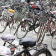 Stock Photo: Plenty bicycles