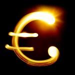 Euro sign — Stock Photo