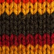 Striped wool - Stock Photo