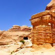 Ancient constructions at Petra — Stock Photo #4579674