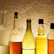 Bottles of alcohol — Stock Photo