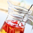 Champagne Sangria — Stock Photo