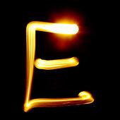 Abc luz — Foto Stock