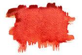 Red brush strokes — Stock Photo