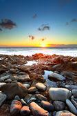 Sunset over Atlantic Ocean — Stock Photo