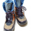 Stock Photo: Children's winter shoes