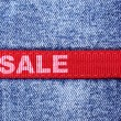 Jeans sale — Stock Photo #4580155