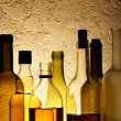 Bottles of alcohol drinks — Stock Photo #4580174