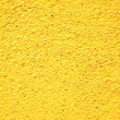 Yellow stucco texture — Foto Stock
