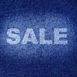 Jeans wear sale — Stock Photo #4580295
