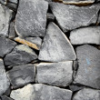 Old stone wall - Stock Photo
