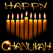 Stock Photo: Happy Chanukah