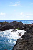 Volcanic coast — Stock Photo