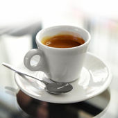 Cup of espresso — Photo