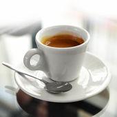 Kopp espresso — Stockfoto