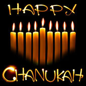 Happy chanuka — Stock fotografie