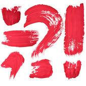 赤い手書き文字 — ストック写真