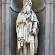Statue of Leonardo da Vinci — Stock Photo