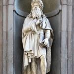 ������, ������: Statue of Leonardo da Vinci