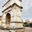 The Arch of Titus - Stock Photo