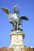 Saint Michael statue — Stock Photo