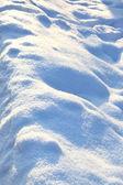 Snowdrift — Stok fotoğraf