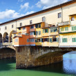 Bridge Ponte Vecchio in Florence — Stock Photo #4919713