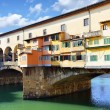 Bridge Ponte Vecchio in Florence - Stock Photo