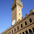 Tower of Palazzo Vecchio - Stock Photo