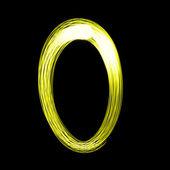 Stworzony przez światło cyfr — Zdjęcie stockowe