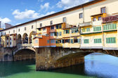 Bridge Ponte Vecchio in Florence — Stock Photo
