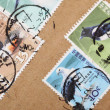 Stock Photo: Postage-stamps