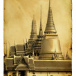 Wat Phra Kaeo in Bangkok — Stock Photo #5319674
