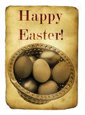 Easter postcard — Stock Photo