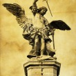 Saint Michael - Stock Photo