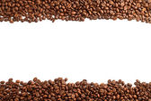 Coffee beans stripes — Stock Photo