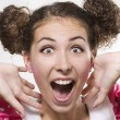 Surprised woman — Stock Photo #4078676