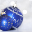 Bright christmas balls — Stock Photo