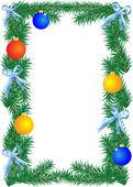 рождественские граница — Cтоковый вектор