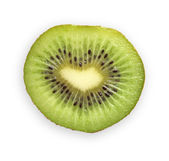 Tasty kiwi isolated on a white background — Zdjęcie stockowe