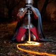 Stock Photo: Medieval khight